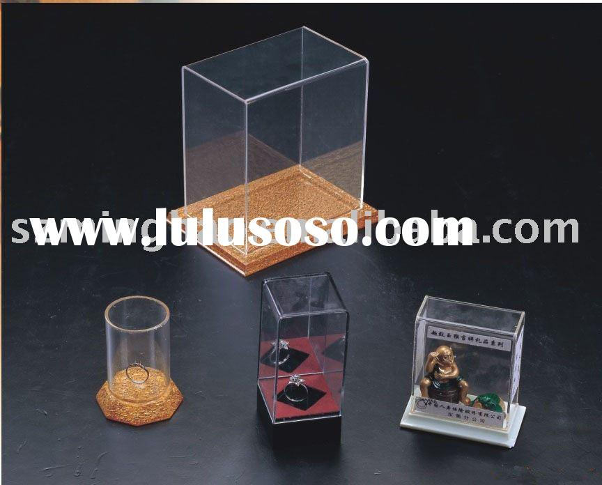 clear acrylic display box / plexiglass show box