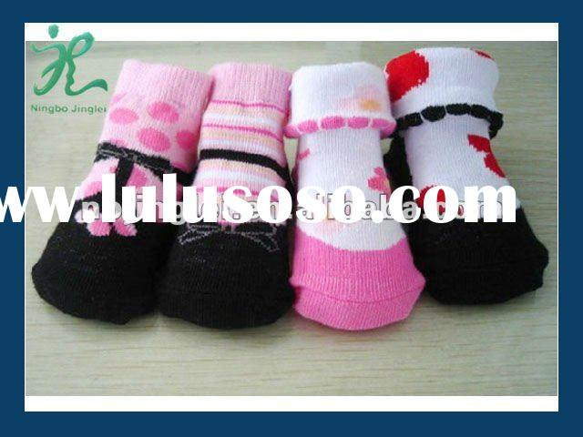 cotton baby shoe socks baby socks wholesale plain baby socks
