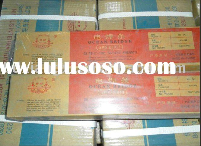 factory supply low smoke welding electrodes AWS E6013
