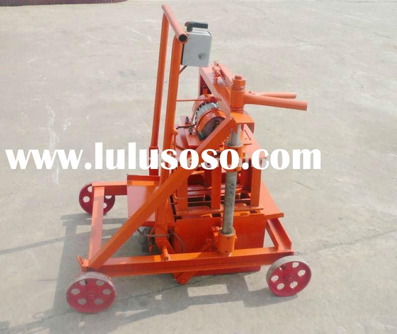low price small concrete block making machine