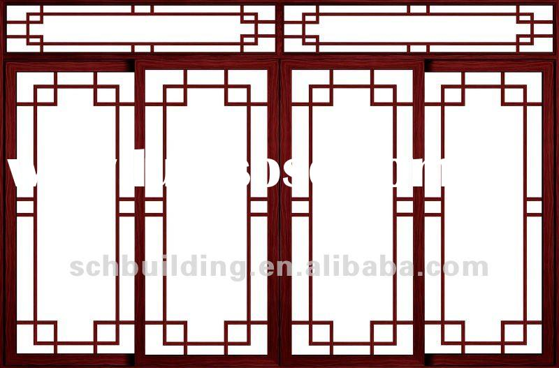 2012 new graceful wrought iron window grill design for for Window grill new design