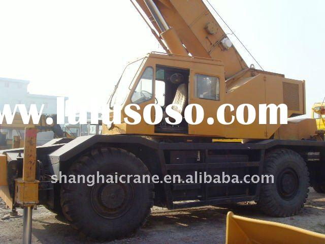 offer used KATO rough terrain crane 50 ton