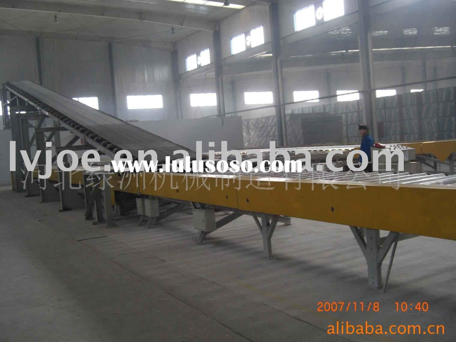 plaster board production machine