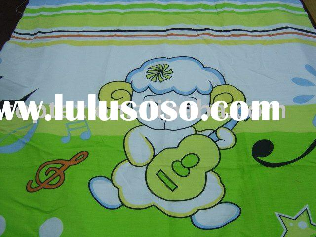 polyester cotton printed bedding fabric