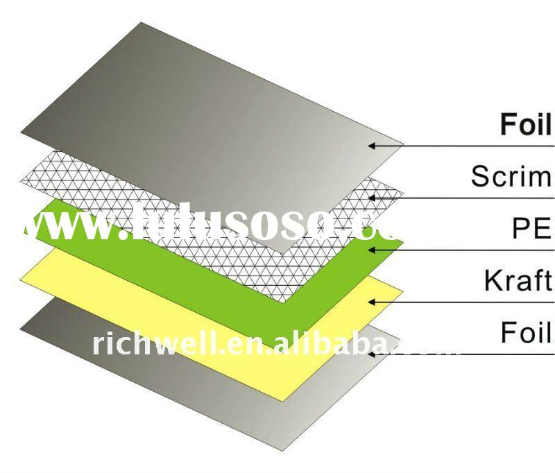 roof foil insulation, car foil insulation, thermal insulation materials