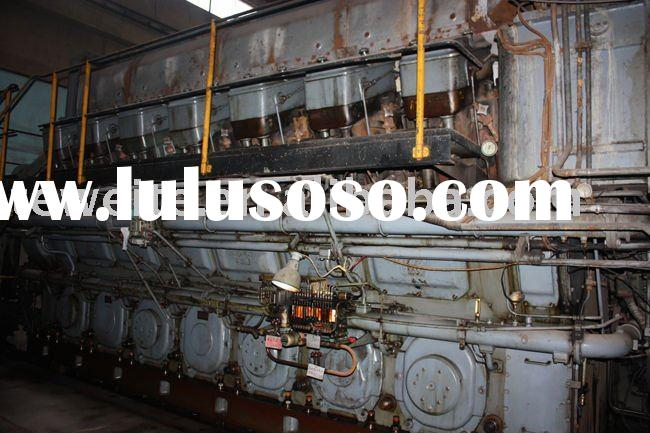 second hand MAN Heavy oil generator