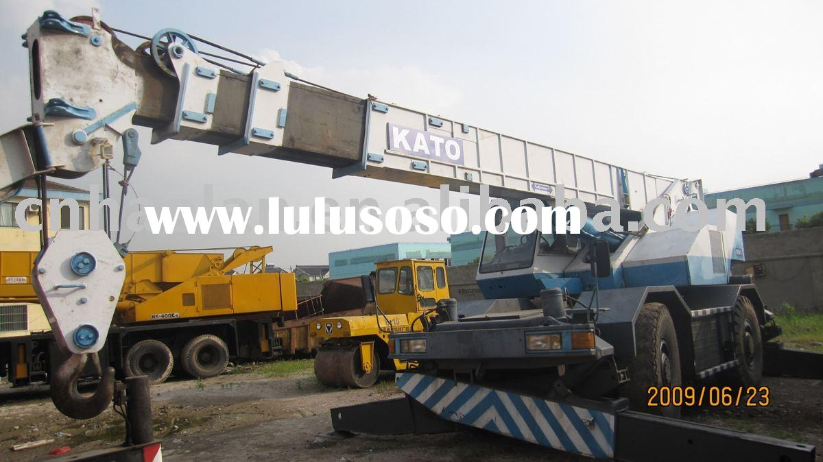 Rough Terrain Crane Malaysia : Second hand kato crane nk vr for sale original made in