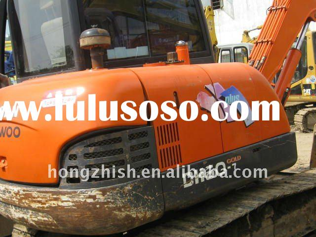 used DAEWOO excavator of the DH60 with high quality