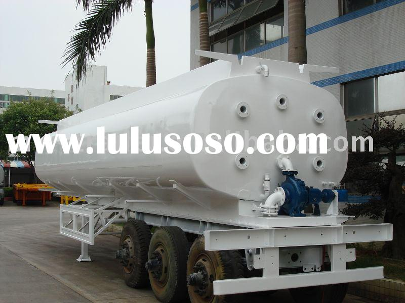 water tank semi trailer