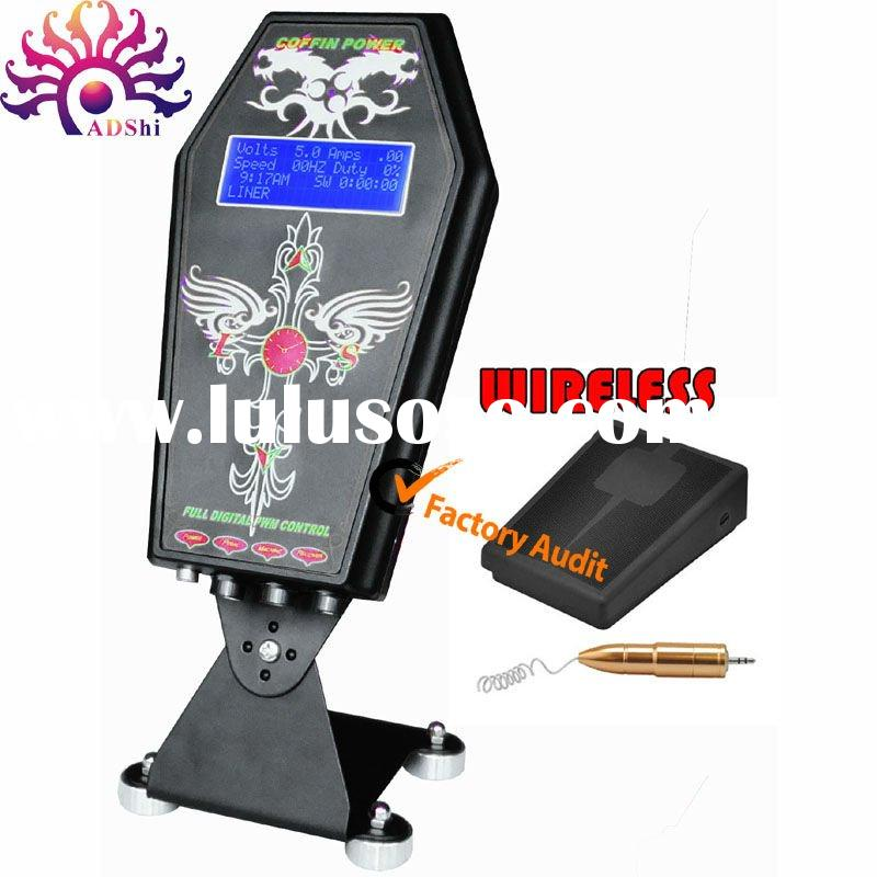 wireless intelligent digital LED tattoo power unite supply for tattoo machine