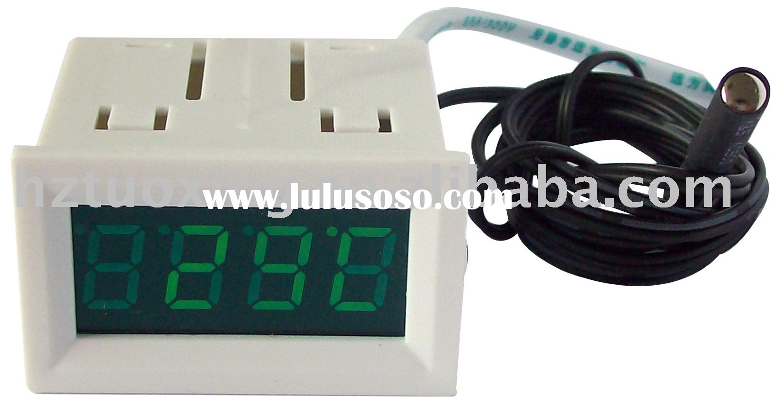 0.4 inch 2 digit green led digital thermometer