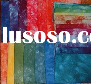 100%cotton tie dyed fabric