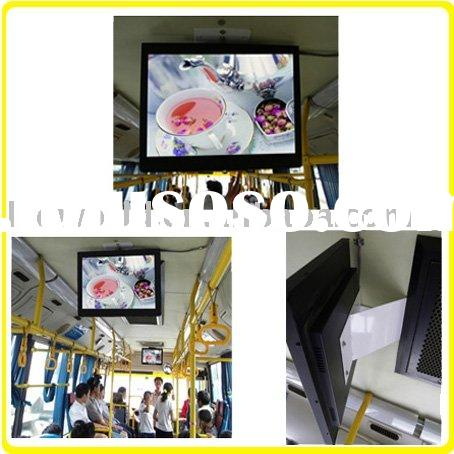 17 inch Coach LCD Screen Advertising