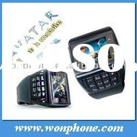 2011 New AVATAR ET-3 Dual sim card Watch Cell phone