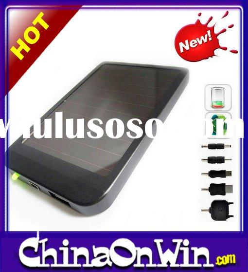 2600mAh Solar Panel USB Battery Charger for mobile MP3 MP4 PDA