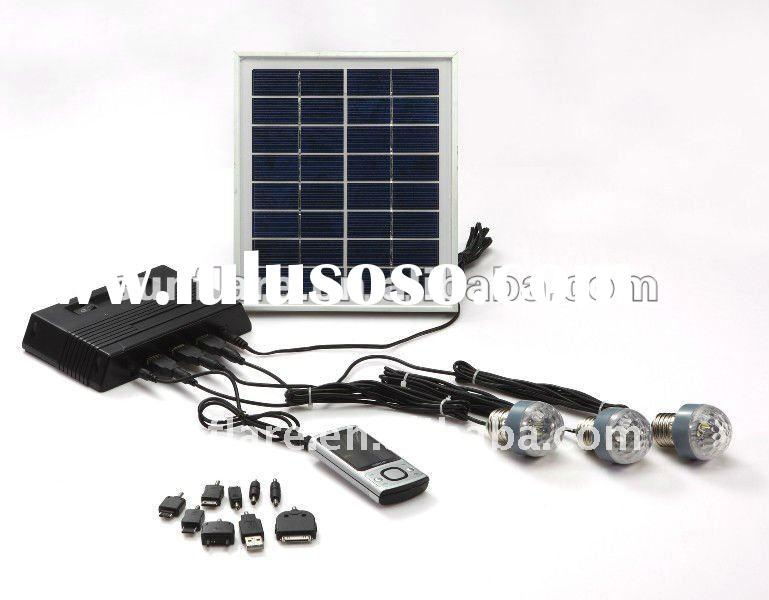 4w portable solar generator for home use
