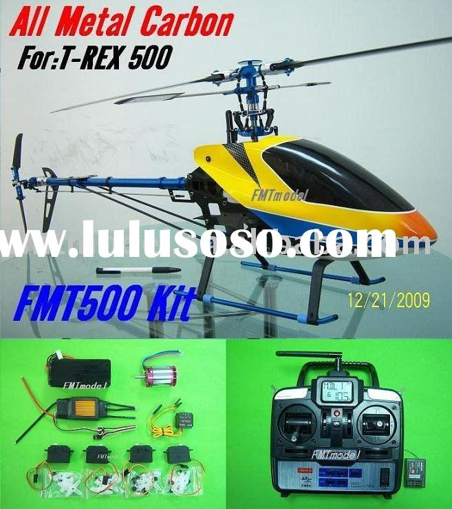 500CF-A2 Metal carbon 6CH 2.4G Rc Helicopter ARF / RTF For ALIGN T-REX 500 (exclude battery charger