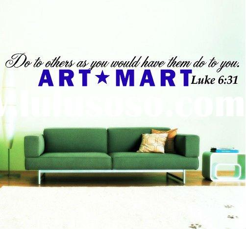 BIBLE - SCRIPTURE quote Wall Decal NO.147