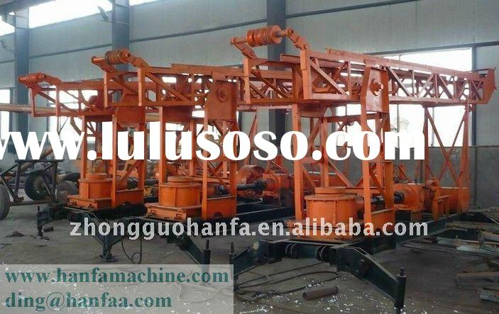 Best Seller in Africa,South America and the Middle East,HF180 Trailer type Water Drilling Rigs