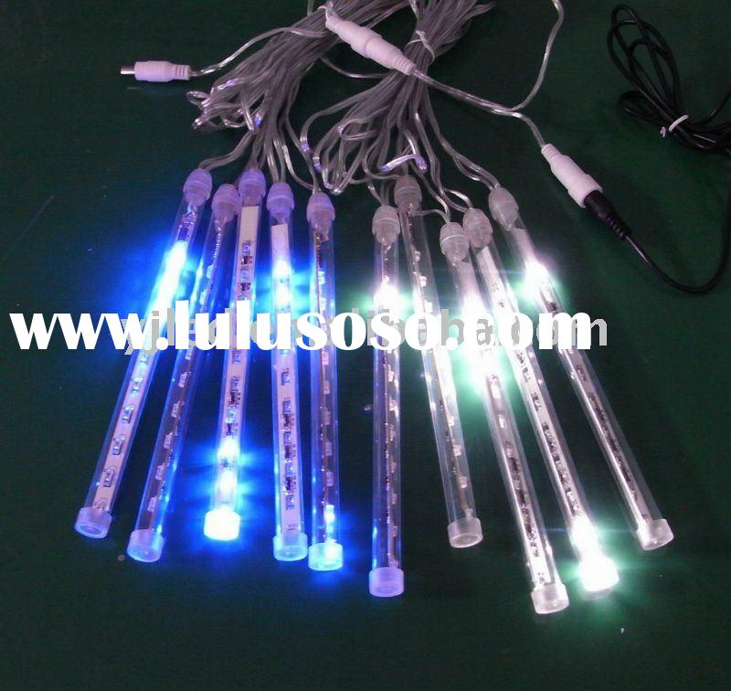 CE Approval led christmas drip lights led meteor lights