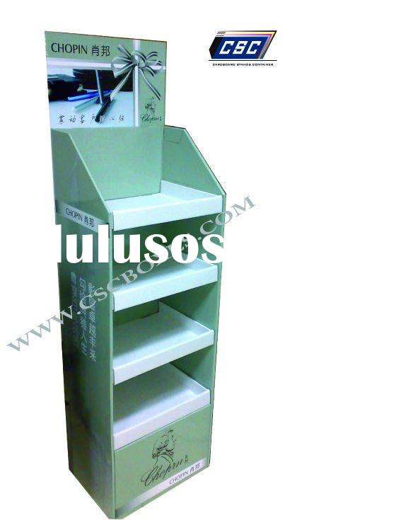 Cardboard Book Display Stands Floor Display Carton Box
