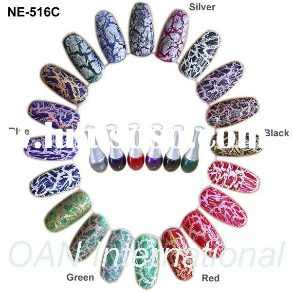 Crackle Glaze Nail Polish - Nail Color for Nail Art