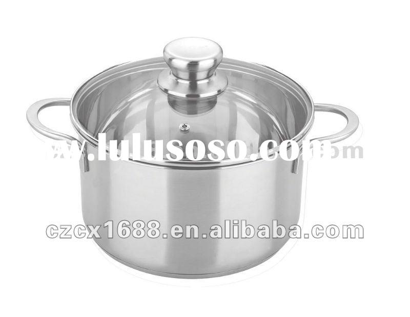 Energy Saving stainless steel cookware soup cooking pot