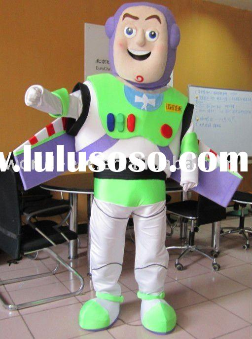 Eva head highest quality buzz lightyear mascot costumes