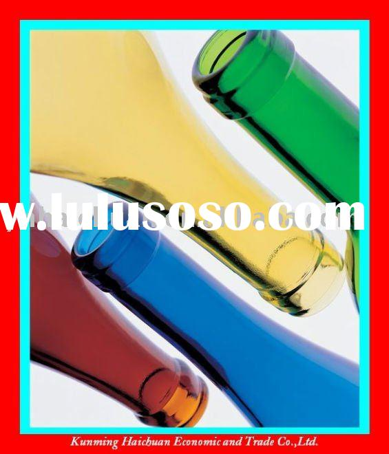 Factory directly sale colored whisky glass bottle