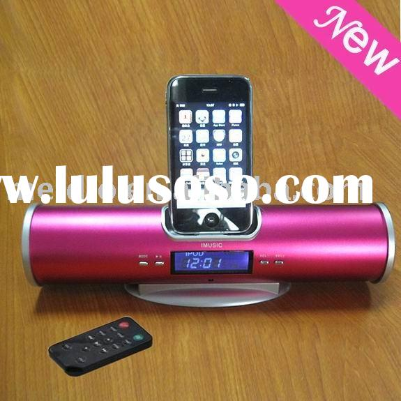 For Ipod charger docking station IMUSIC-5--Pink(CE/ROHS)