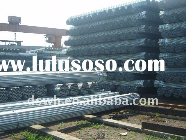 Galvanized Greenhouse Steel Pipe Price Per Ton 700 USD to 850 USD