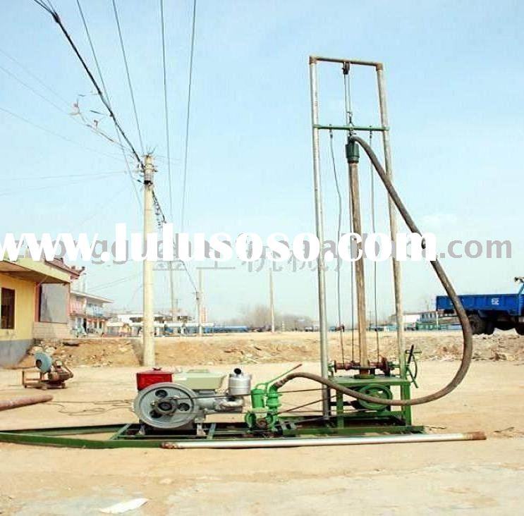 HF-80 lightest &useful farm irrigation water well drilling equipment