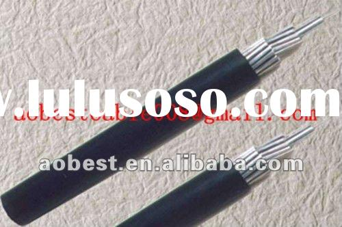 High quality single cover cable aluminum core