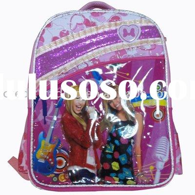 """Hot Selling 16"""" polyester hanna pattern student bag"""