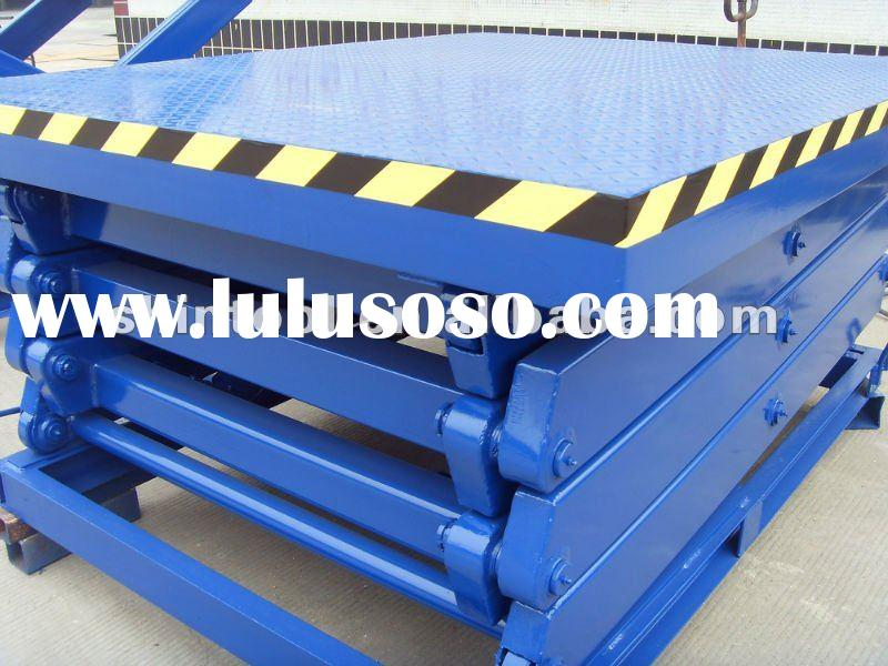 Hydraulic adjustable scissor lift/ aerial work platform