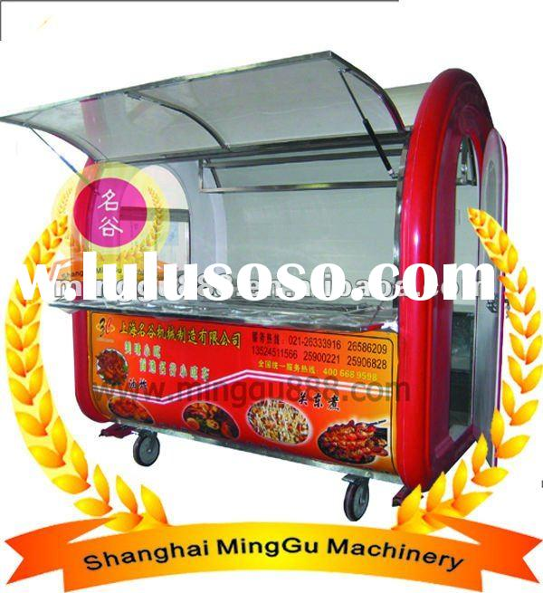 Mobile Food Carts(stainless steel&CE & ISO9001 Approved ,Manufacturer )