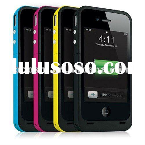 New 1500mAh Juice Pack Air Battery Case for iPhone 4