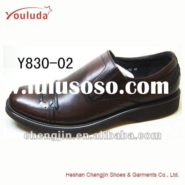 New style man's spanish leather shoes Y830-02