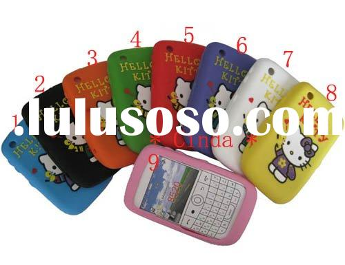 Newest Hello Kitty Silicone Case For BlackBerry Bold 9700