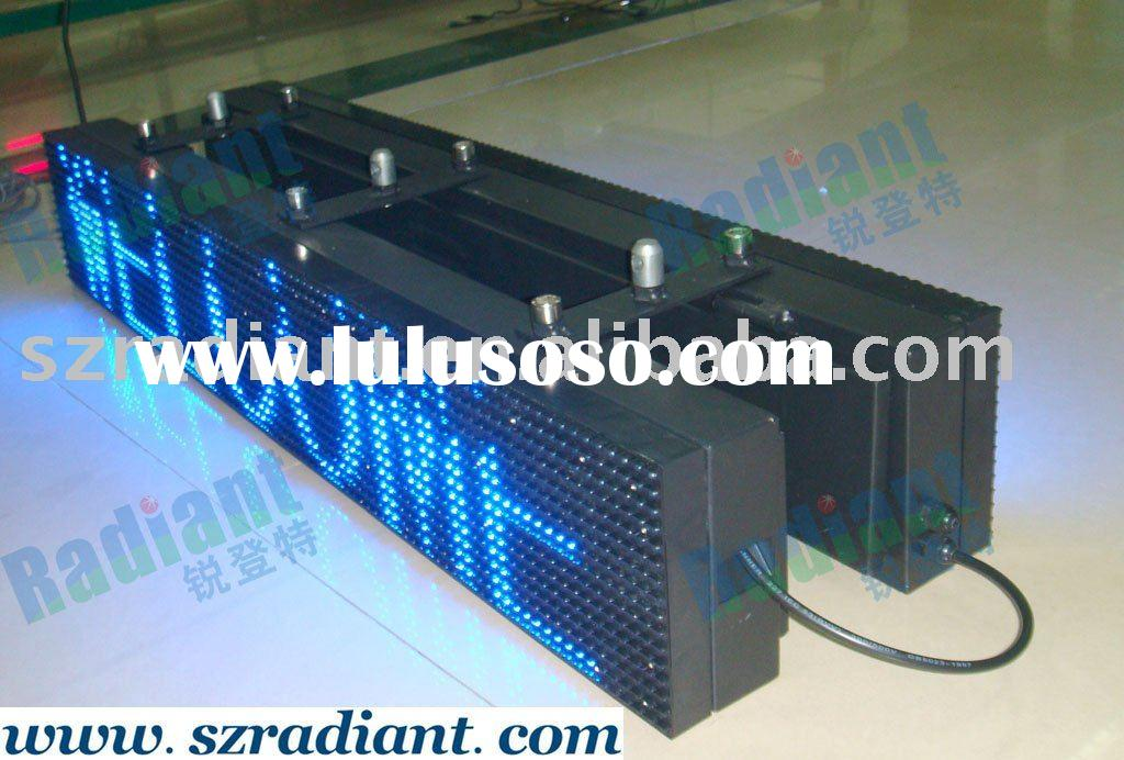 Outdoor double side LED Scrolling sign--Pitch 10mm
