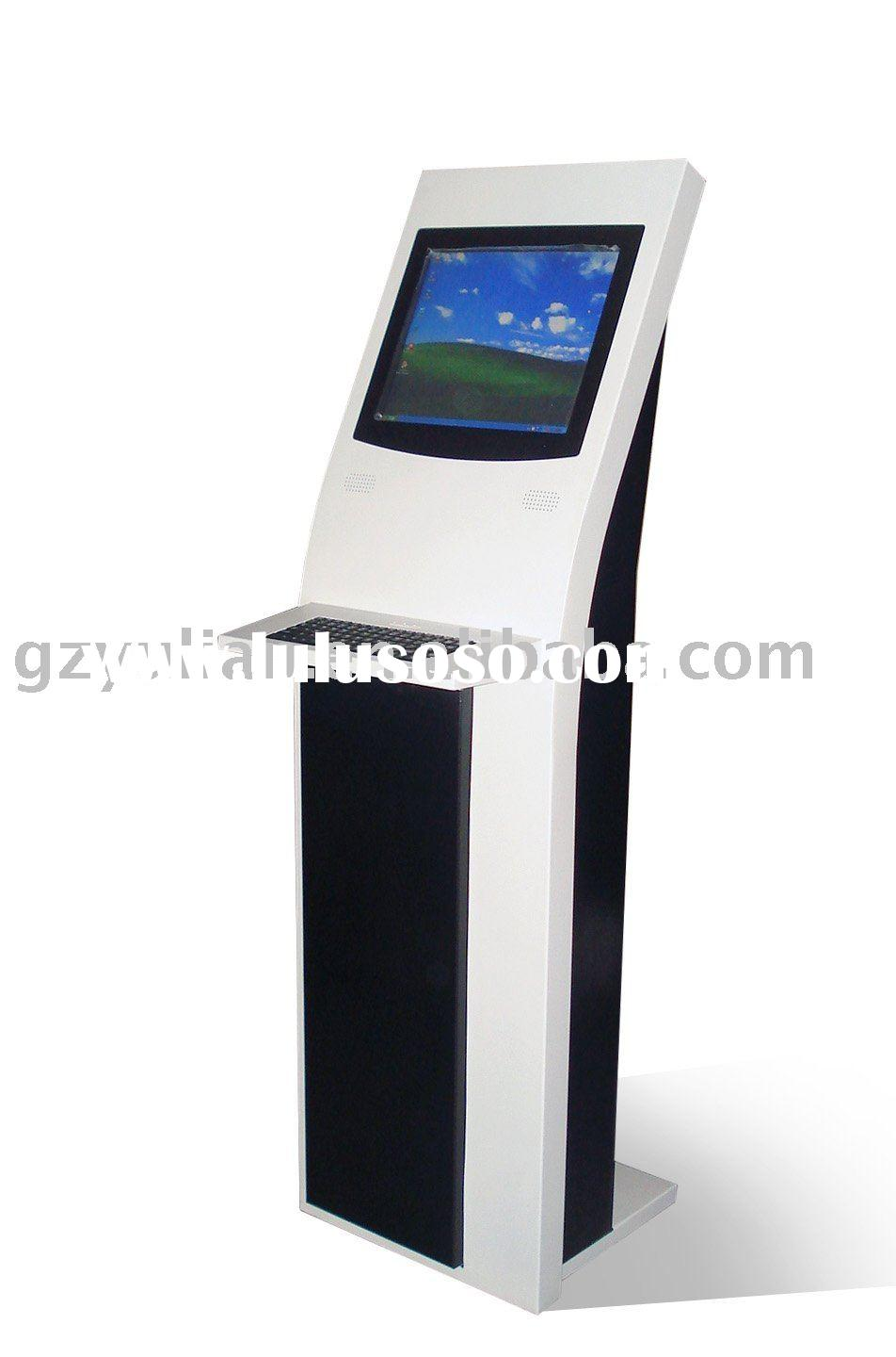 Photo kiosk with camera/ Kiosk with A4 printer/ Coin accptor/ bill acceptor/ Credit card reader/ met