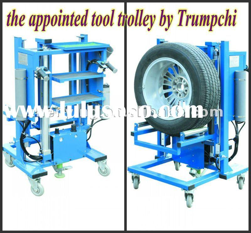 Pneumatic Auto repair and maintenance tool trolley