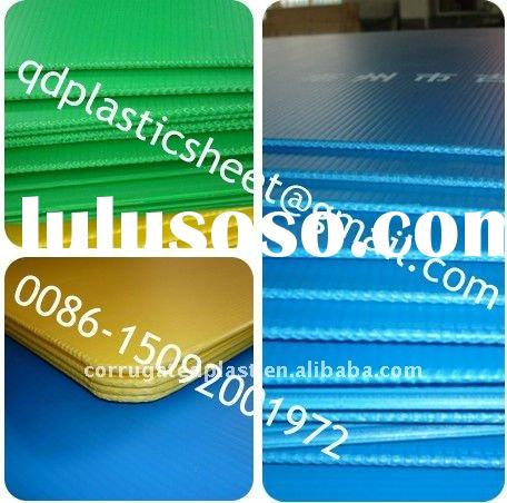 Polypropylene PP Corrugated Plastic Bottle Separator Sheet