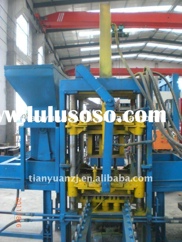 QTY3-20 paving bricks moulds/paver making machine