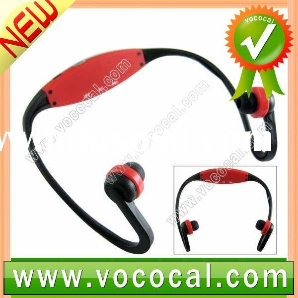 Red Headphone Sport MP3 Player