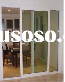 UPVC sliding door (clear,double,tempered glass)