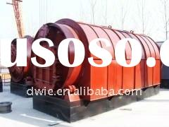 Waste tire/plastic/rubber pyrolysis plant,manufacturer