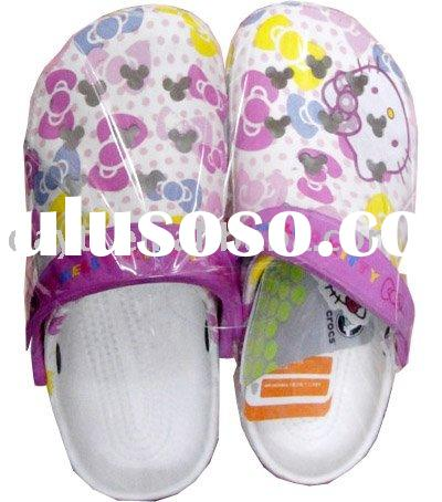 Wholesale Hello Kitty Beach Slippers shoes For Kids F0158