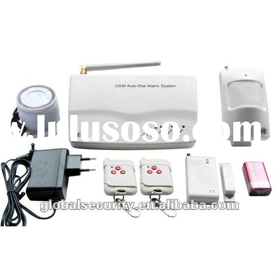 Wireless Home Security GSM Alarm System - Home Appliance Controlling (007M3B)