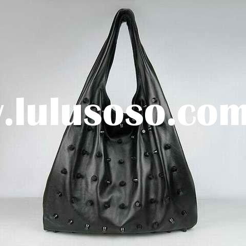 accept paypal,2011 hot selling genuine leather handbag